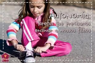 autonomia e desenvolvimento infantil