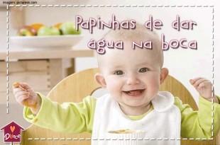 papinhas de bebê