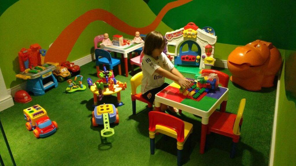 Pizzaria rodizio com área infantil no ABC
