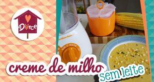 receita de creme de milho sem leite